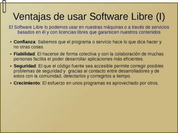 Ventajas del Software Libre